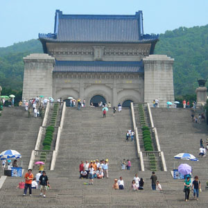 China's Sun-Yet Sen burial